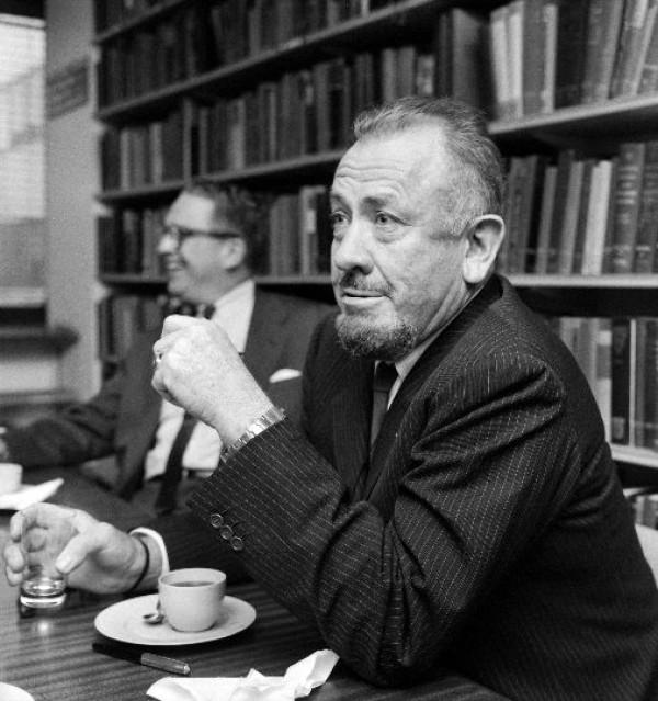 John Steinbeck, Olavi Kaskisuo / Lehtikuva, 1963