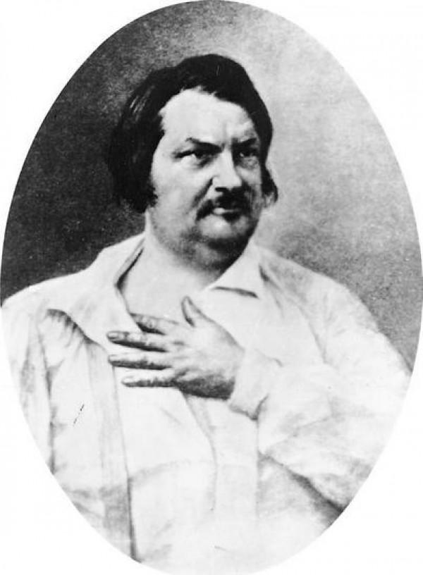 Honoré de Balzac, photographie retouchée par Nadar, 1890
