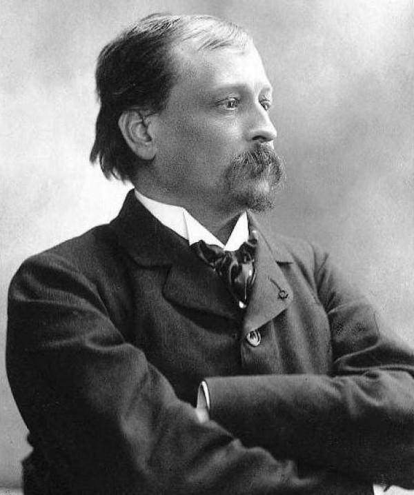 Georges Courteline, vers 1890