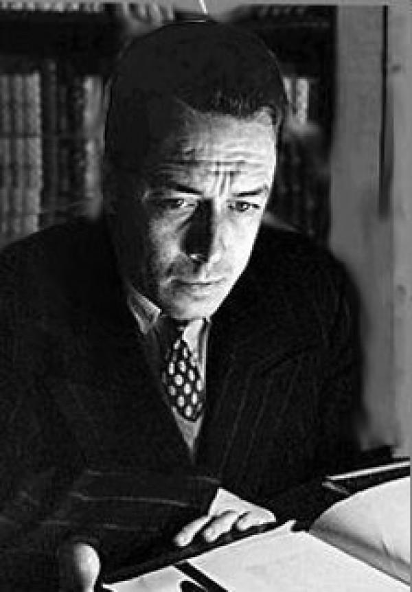 Albert Camus, avant 1958