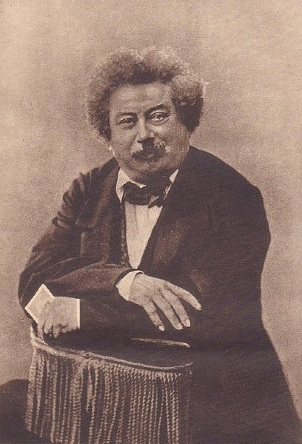Alexandre Dumas par Nadar