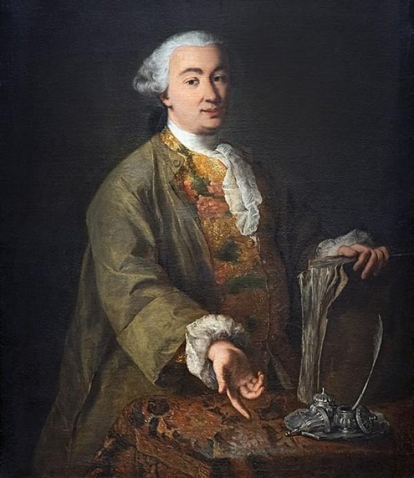 Carlo Goldoni par Alessandro Longhi, 1757