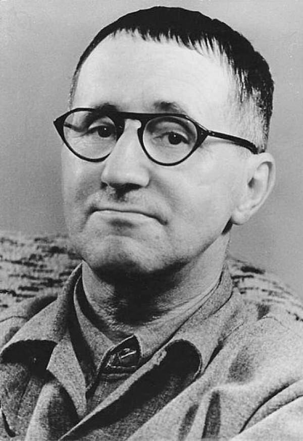 Bertolt Brecht, 1954