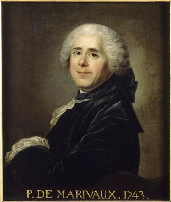 Portrait de Pierre Carlet de Chamblain de Marivaux (1688-1763) d'après Louis-Michel van Loo