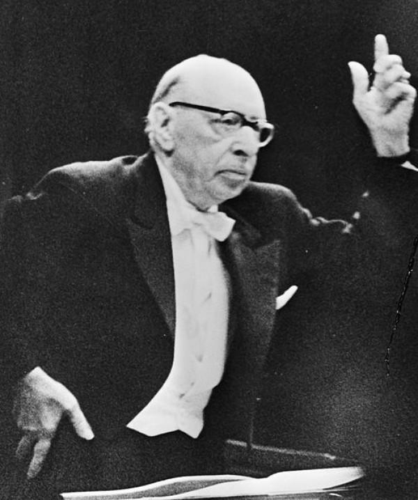 Igor Stravinsky, 29 mai 1965