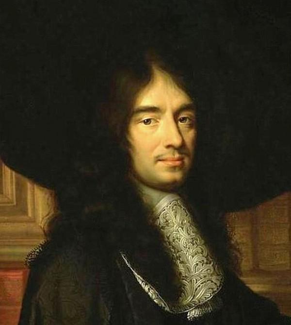 Charles Perrault par Philippe Lallemand, 1672 (détail)