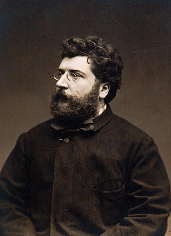 Georges Bizet par Étienne Carjat, 1875