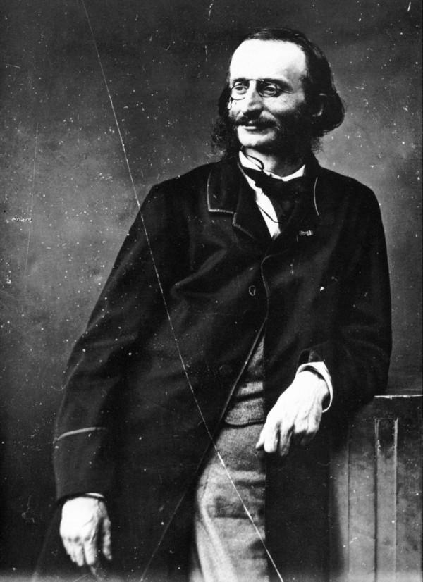 Jacques Offenbach par Félix Nadar, avant 1880