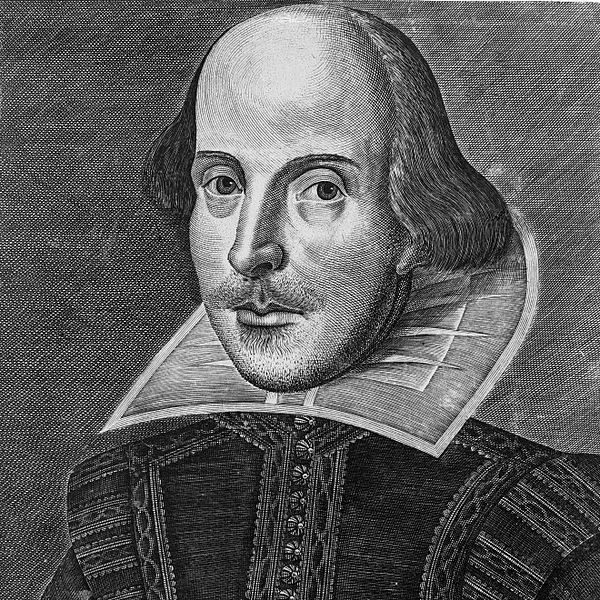 Portrait de William Shakespeare par Martin Droeshout (1622)