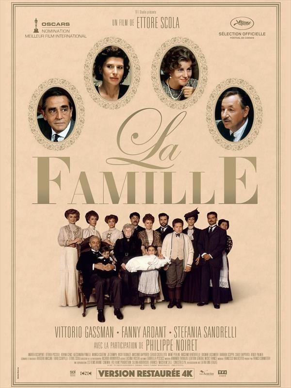 La Famille, affiche version restaurée