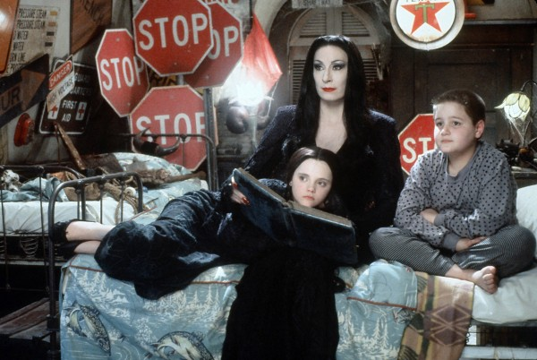 Christina Ricci, Anjelica Huston, Jimmy Workman