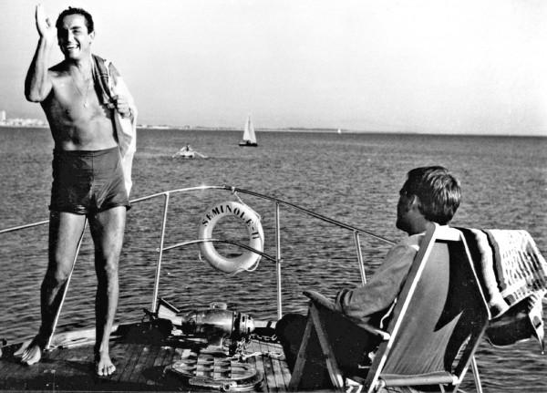 Vittorio Gassman, Jean-Louis Trintignant