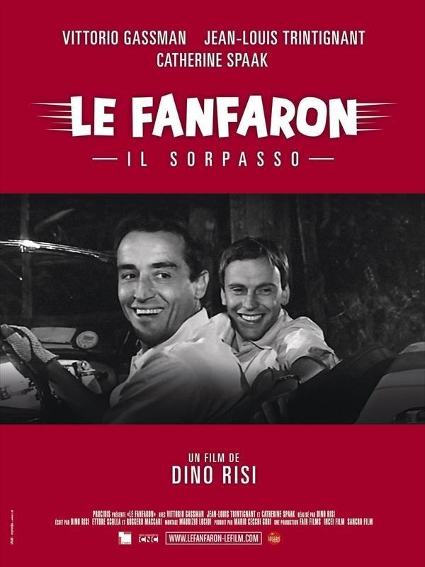 Le Fanfaron, affiche