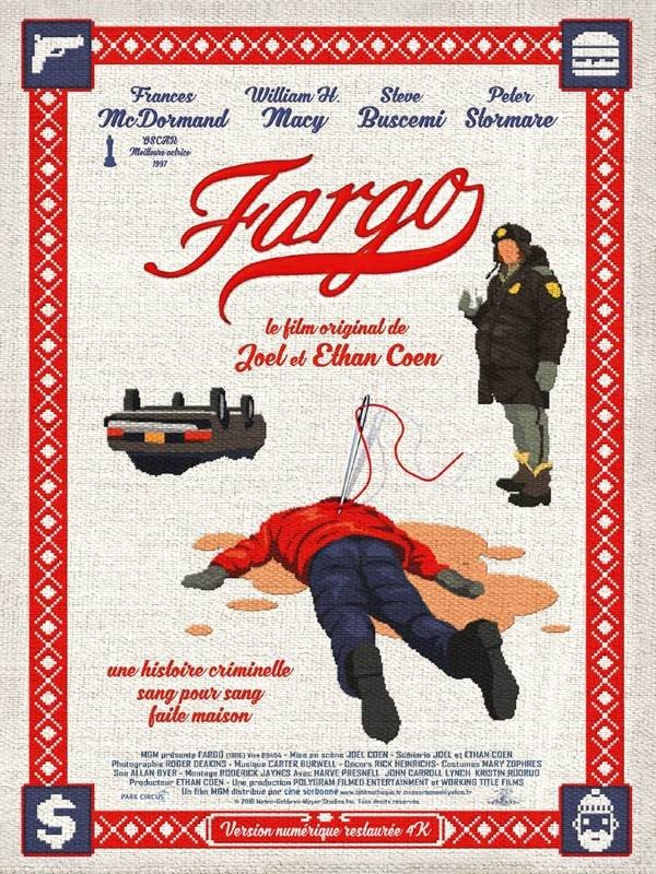 Fargo, Affiche version restaurée
