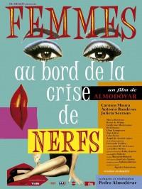 Femmes au bord de la crise de nerfs, Affiche