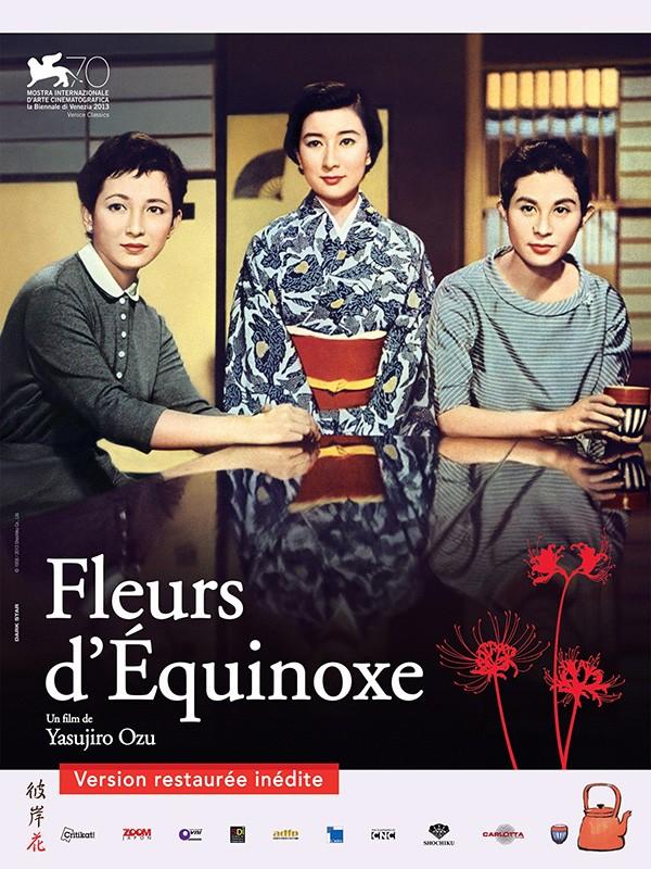 Affiche Fleurs d''équinoxe, version restaurée
