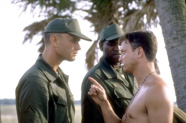 Tom Hanks, Mikelti Williamson, Garry Sinise