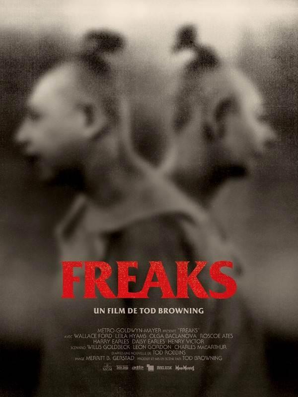 Freaks, la monstrueuse parade, Affiche version restaurée