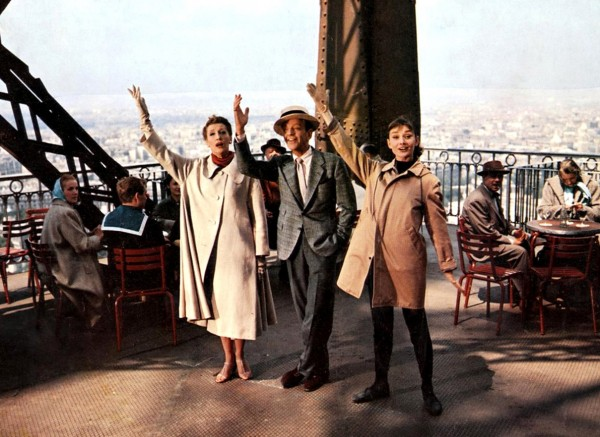 Kay Thompson, Fred Astaire, Audrey Hepburn