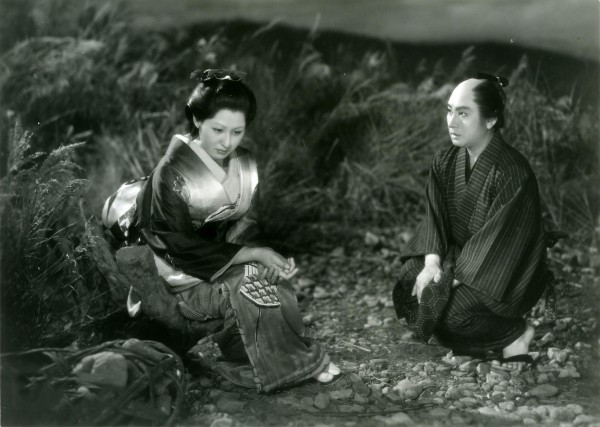 Kyôko Kagawa (Osan), Kazuo Hasegawa (Mohei)