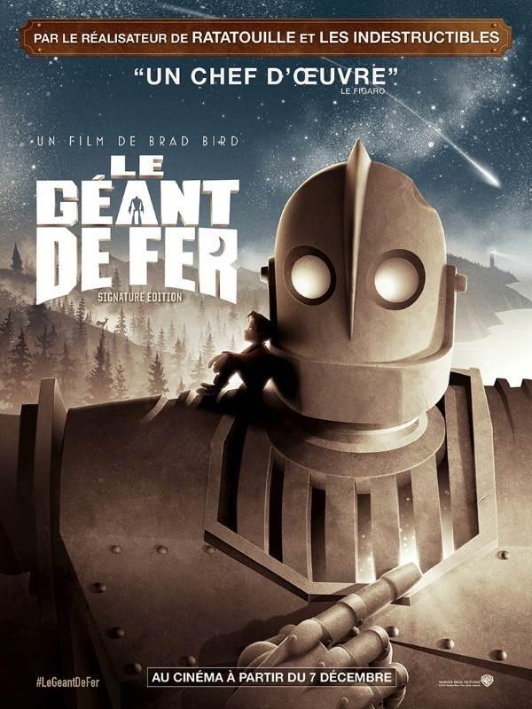 Le Géant de fer, Affiche version restaurée