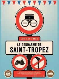 Le gendarme de Saint-Tropez, Affiche version restaurée