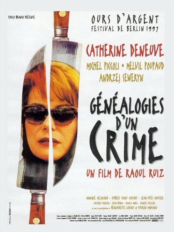 Généalogies d'un crime, affiche