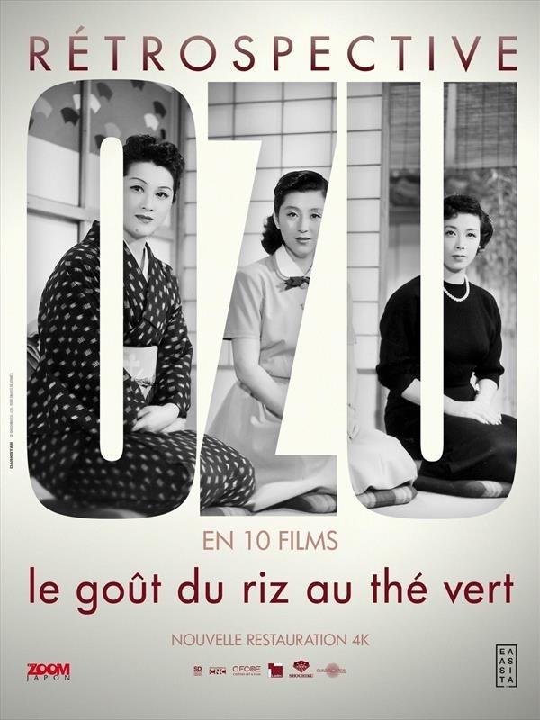 Rétrospective Ozu en 10 films, Affiche : Le goût du riz au thé vert