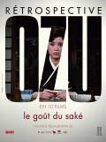 Rétrospective Ozu en 10 films, Affiche : Le goût du saké