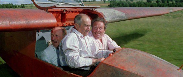 Bourvil, Louis de Funès, Terry-Thomas