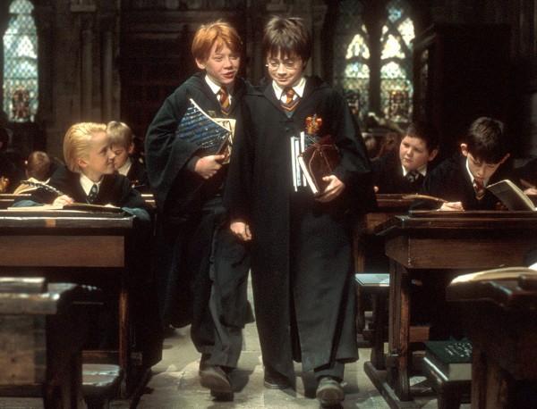 Tom Felton, Rupert Grint, Daniel Radcliffe