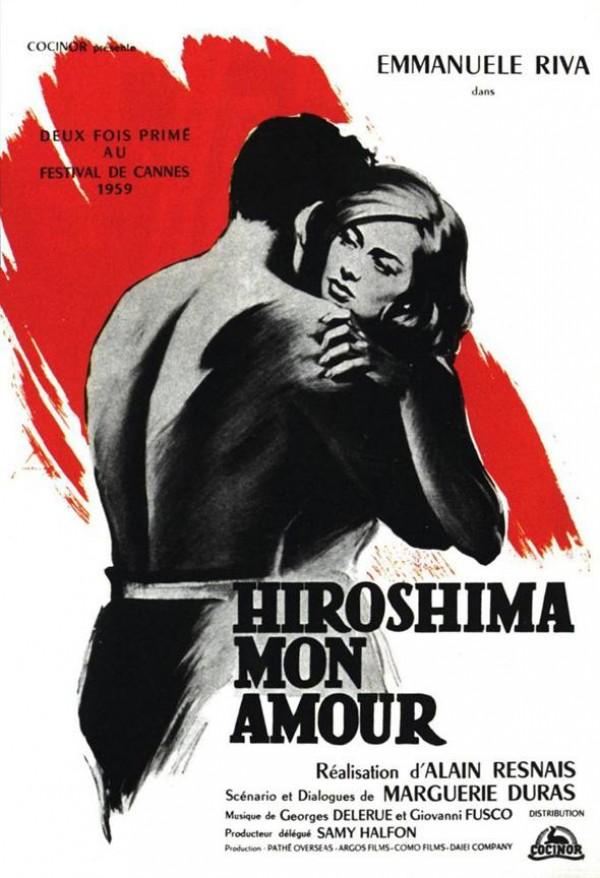 Hiroshima mon amour : Affiche