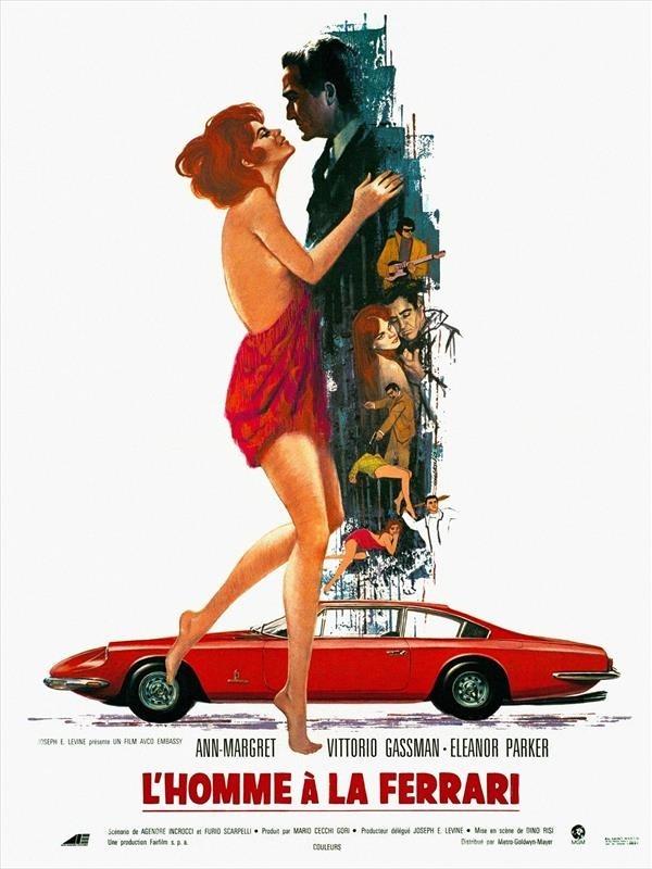 L'homme à la Ferrari, affiche