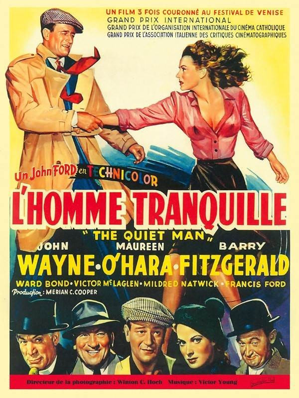 L'Homme tranquille, Affiche version restaurée