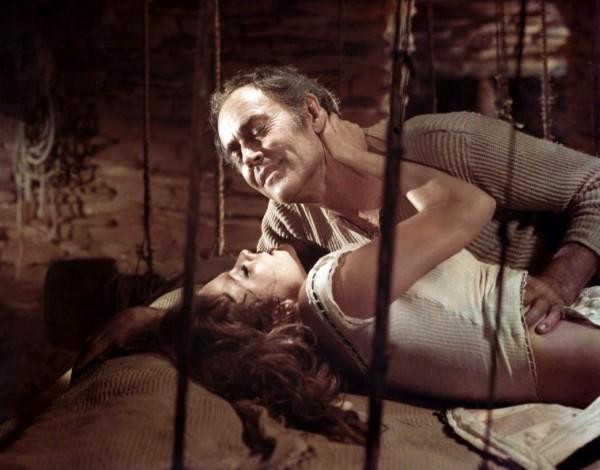 Claudia Cardinale, Henry Fonda