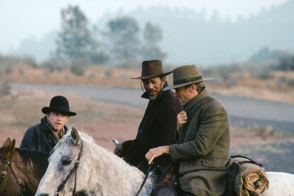 Jaimz Woolvett, Morgan Freeman, Clint Eastwood