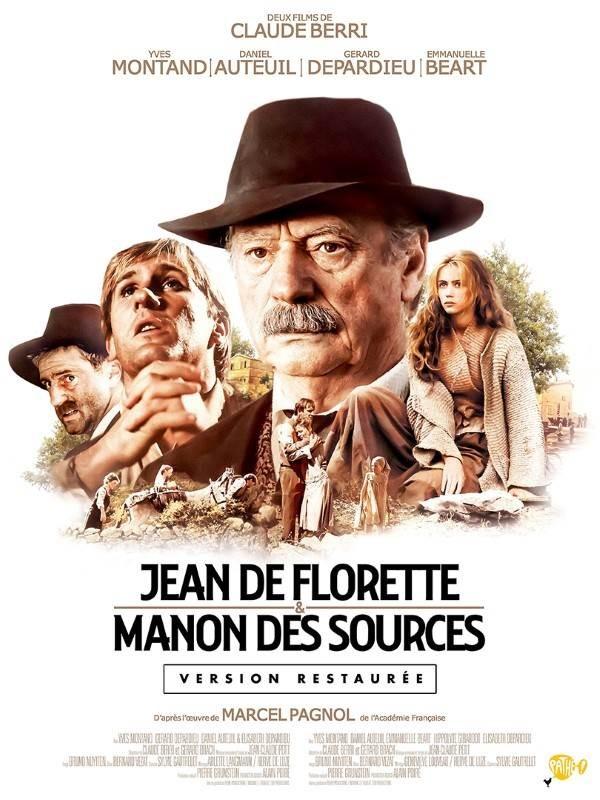 Jean de Florette, Manon des sources, Affiche version restaurée