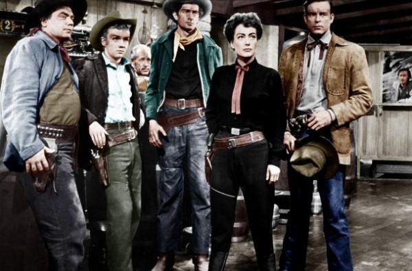 Ernest Borgnine, Ben Cooper, Frank Marlowe, personnage, Joan Crawford, Scott Brady