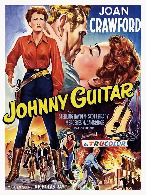 Johnny Guitare, Affiche version restaurée