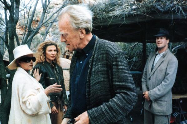 Jeanne Moreau, Solveig Dommartin, Max von Sydow, William Hurt