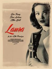 Laura, Affiche