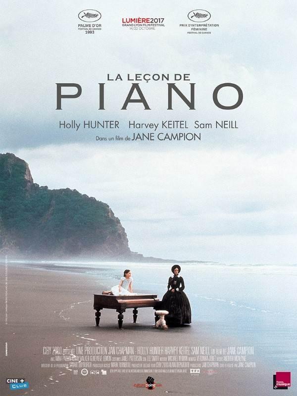 La Leçon de piano, Affiche version restaurée