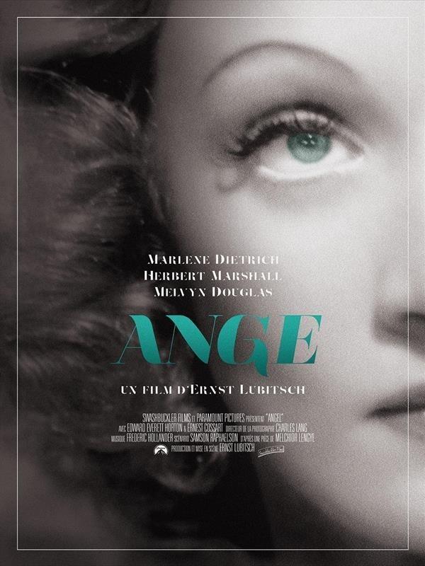 Ange, affiche version restaurée