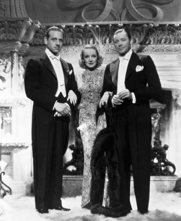 Melvyn Douglas, Marlene Dietrich, Herbert Marshall