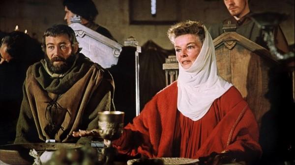 Peter O'Toole, Katharine Hepburn
