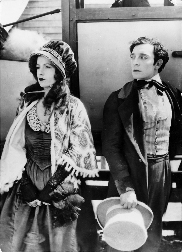 Natalie Talmadge, Buster Keaton