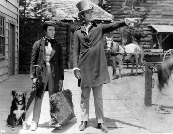 Buster Keaton, Francis X. Bushman Jr.
