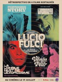Lucio Fulci, le poète du macabre, rétrospective en 4 films restaurés, affiche