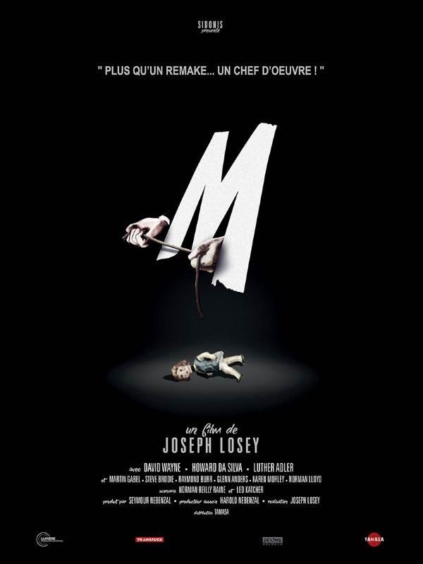 M, Affiche