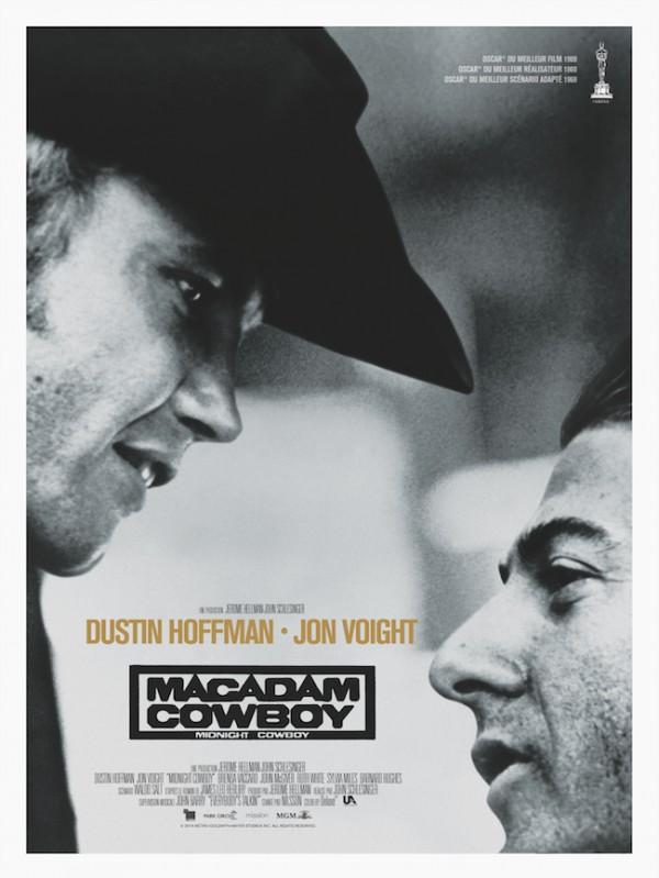 Macadam Cowboy, Affiche version restaurée